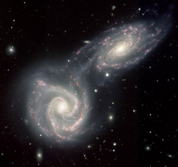 galaxies merge